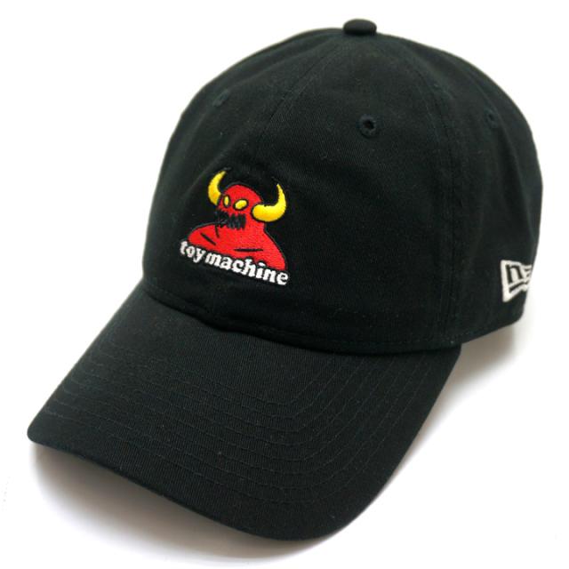 NEW ERA ニューエラ ローキャップ 9THIRTY TOY MACHINE MONSTER CAP - BLACK