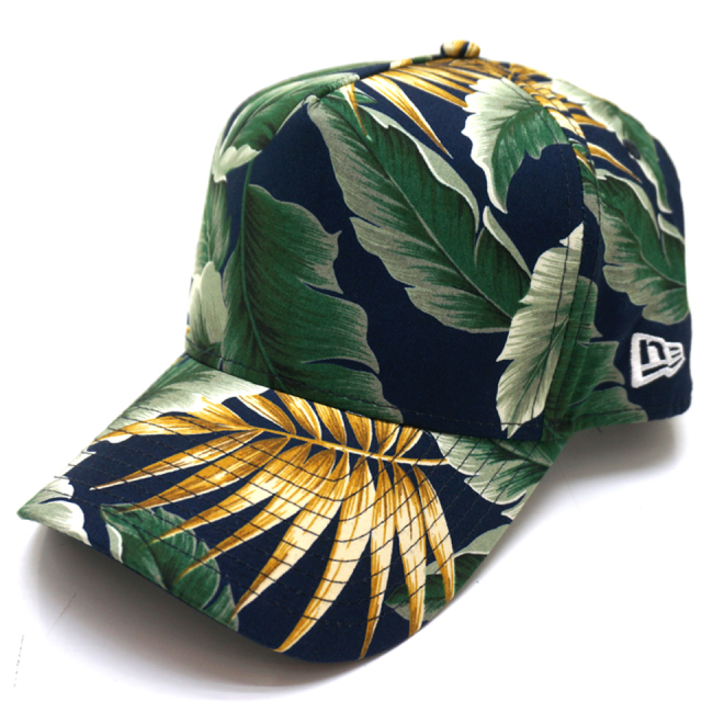 NEW ERA ニューエラ キ キャップ 9FORTY A-FRAME BOTANICAL CAP - NAVY