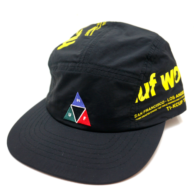 HUF ハフ BOULEVARD VOLLEY CAP - BLACK