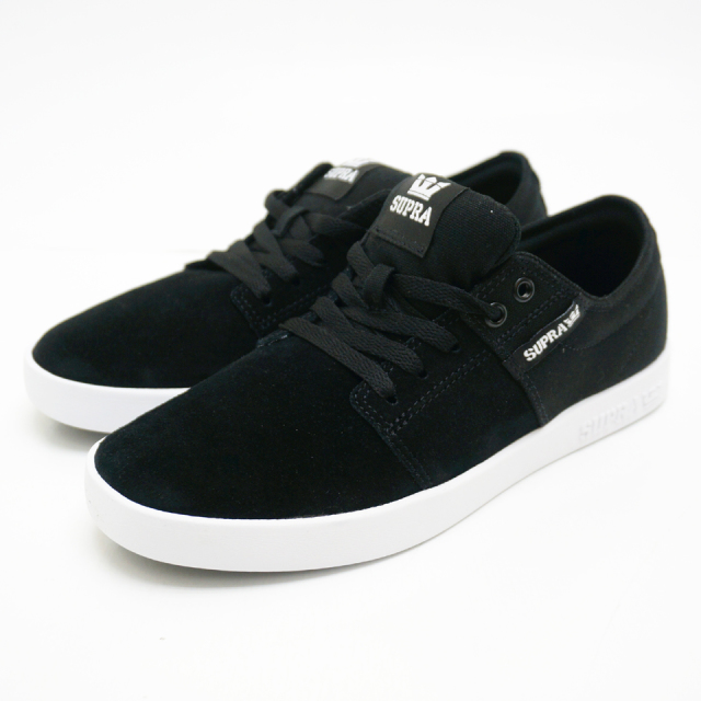 SUPRA スープラ STACKS2 - BLACK/GREY - WHITE 08183-045-M