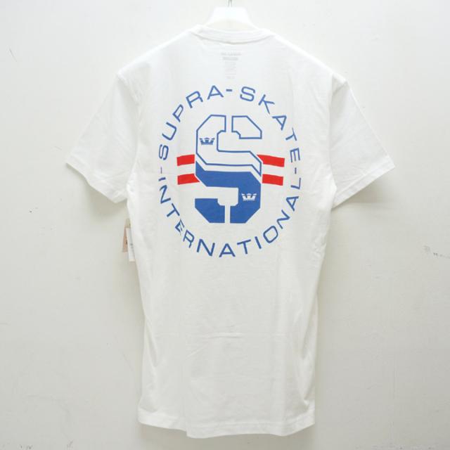 SUPRA スープラ Tシャツ SUPRA SKATE S/S Tee