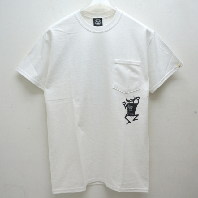 TOY MACHINE トイマシーン ORIGINAL MONSTER POCKET S/S Tee (TMP19ST6)
