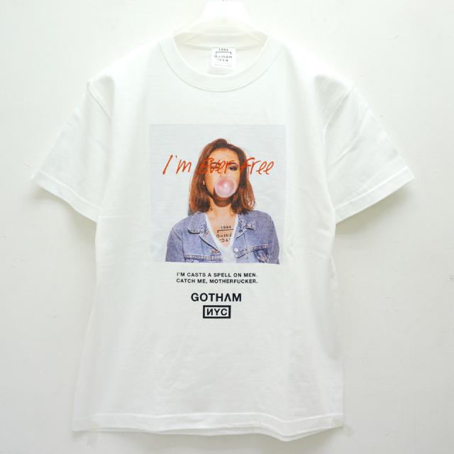 GOTHAM ゴッサム Tシャツ EVERFREE S/S Tee GN183