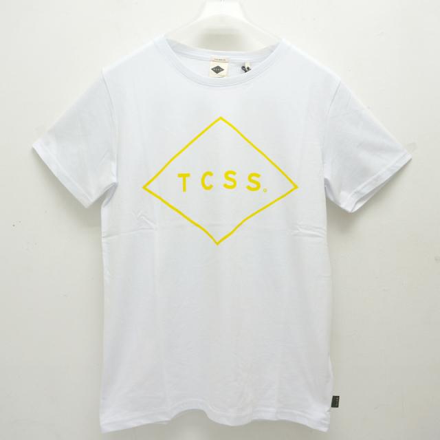 TCSS ティーシーエスエス Tシャツ STANDARD S/S Tee ホワイト TE18171