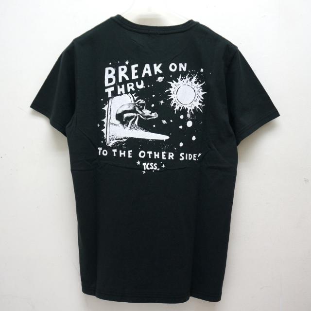 TCSS ティーシーエスエス Tシャツ BREAK THROUGH S/S Tee ブラック TE18155