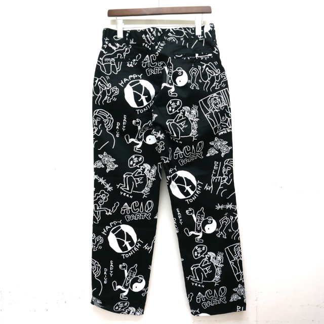TENBOX 10匣 テンボックス TENBOX × FACE ACID PANTS