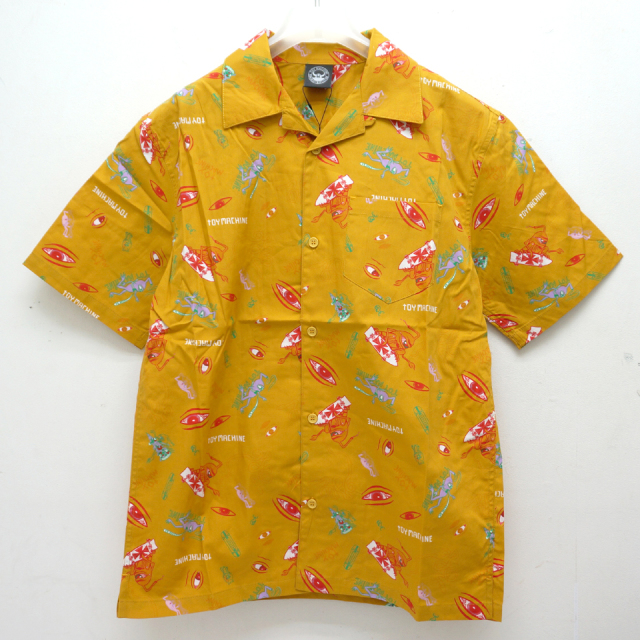 TOY MACHINE トイマシーン 半袖シャツ SECT EYE PRINT S/S SHIRT