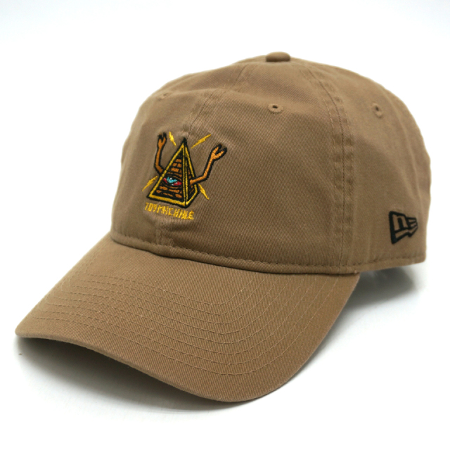 NEW ERA ニューエラ ローキャップ 9THIRTY TOY MACHINE SECT PYRAMID CAP - KHAKI