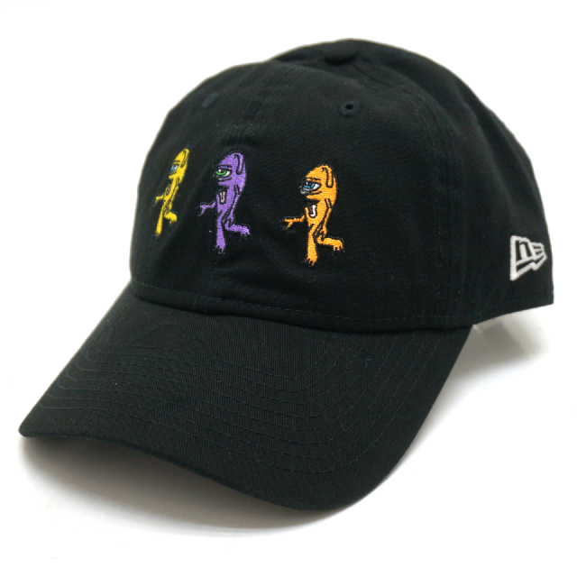NEW ERA ニューエラ ローキャップ 9THIRTY TOY MACHINE 3 SECT WALKING CAP - BLACK