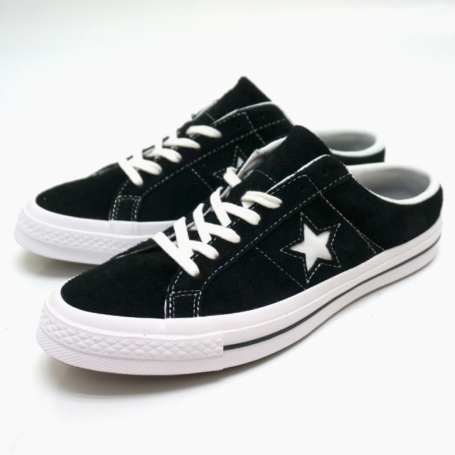 CONVERSE コンバース 日本未発売 ONE STAR MULE SLIP - BLACK