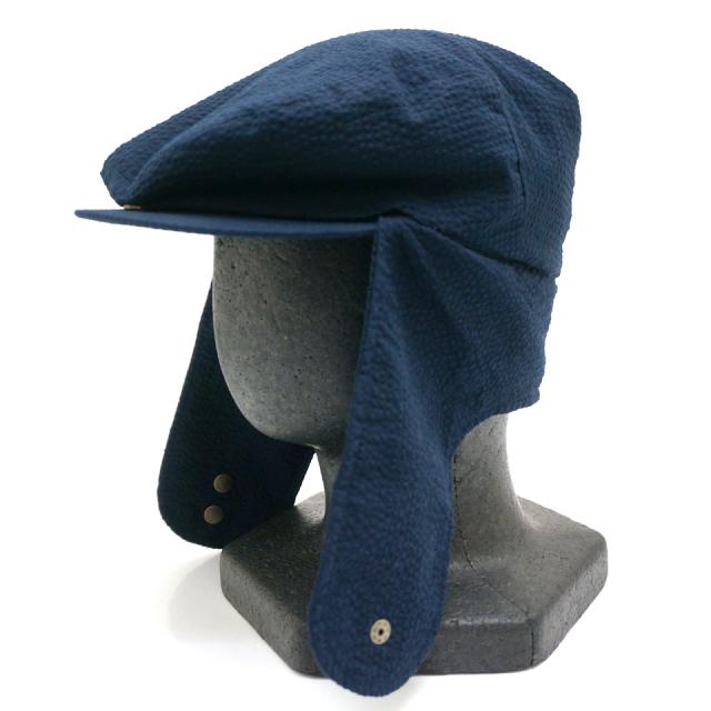 INTERBREED インターブリード DOG EAR SEER SUCKER HUNTING CAP