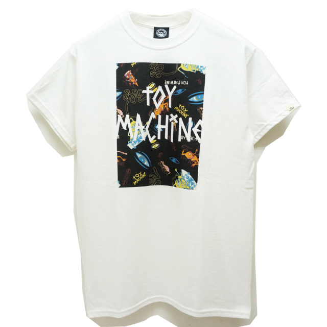 TOY MACHINE トイマシーン SECT EYE BOX LOGO S/S Tee (TMP19ST25)