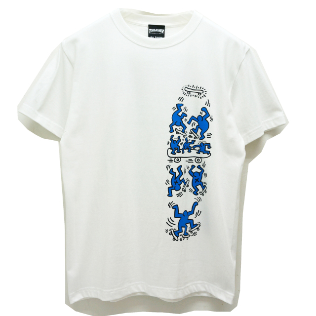 THRASHER スラッシャー Tシャツ THRASHER×Keith Haring S/S Tee