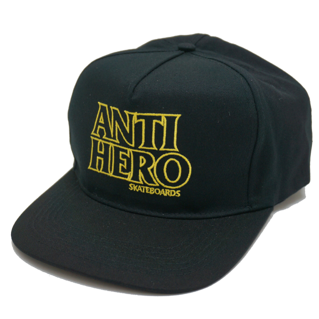 ANTI HERO アンタイヒーロー Tシャツ HERO EMBROIDERED SNAPBACK
