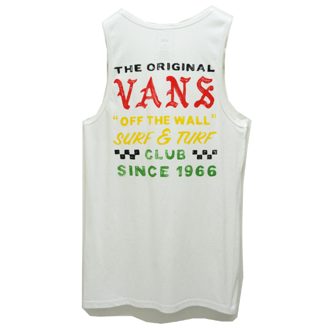 VANS ヴァンズ SURF AND TURF TANK TOP