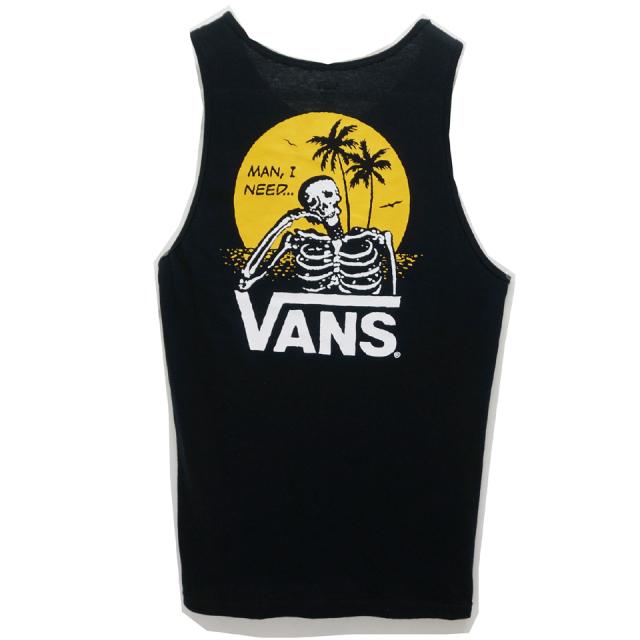 VANS ヴァンズ MAN I NEED VANS TANK TOP