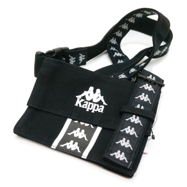 KAPPA カッパ ショルダーバッグ CANVAS MINI SHOULDER BAG