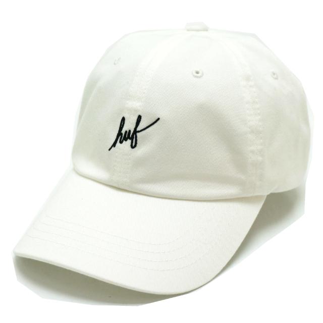 HUF ハフ ローキャップ SCRIPT LOGO CURVE CAP