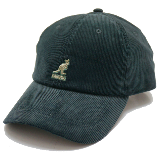 KANGOL カンゴール CORD BASE BALL CAP 197-169007 FORESTER