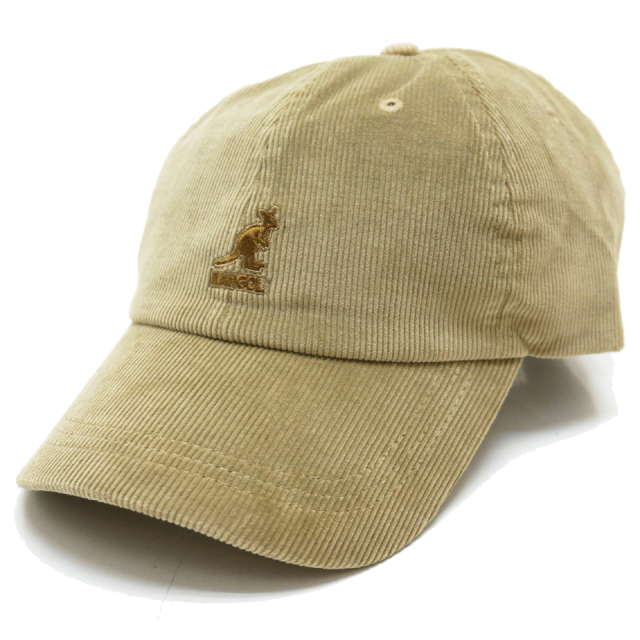 KANGOL カンゴール CORD BASE BALL CAP 197-169007 BEIGE