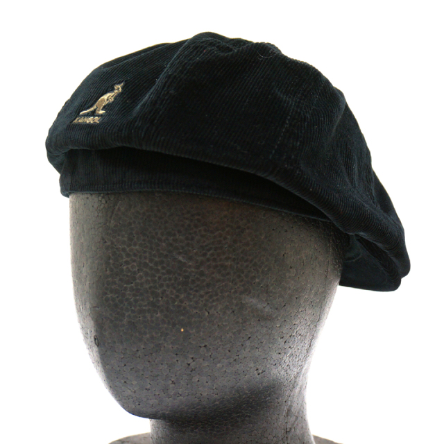 KANGOL カンゴール CORD HAWKER HUNTING 187-169008 BLACK