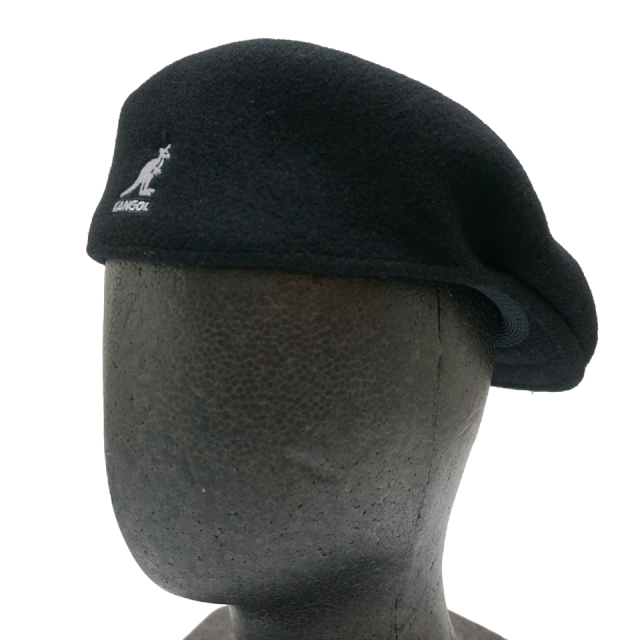KANGOL カンゴール WOOL 504 HUNTING 197-169001 BLACK