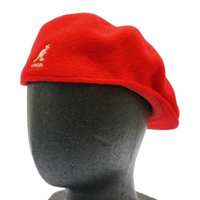 KANGOL カンゴール WOOL 504 HUNTING 197-169001 RED