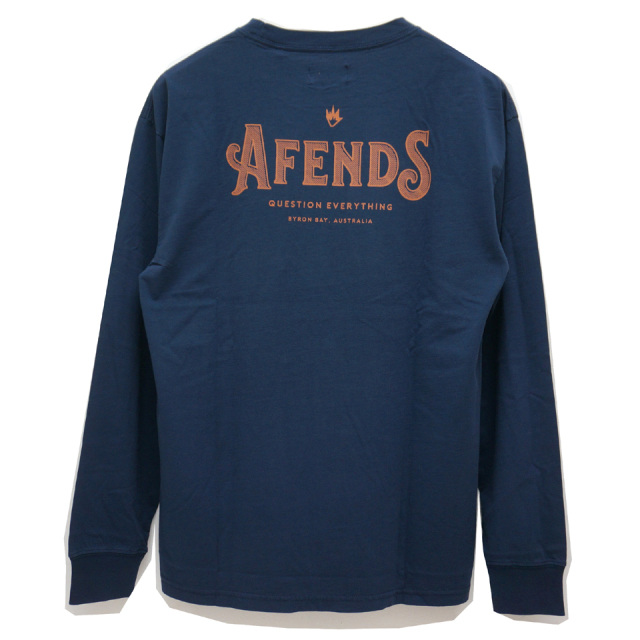 AFENDS アフェンズ ロンT CANDY L/S Tee WHITE
