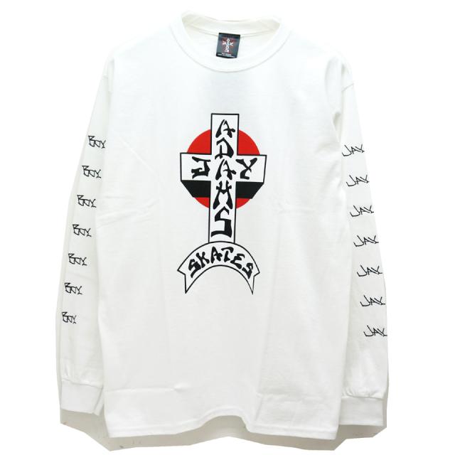 JAY ADAMS ジェイアダムス ロンT Tシャツ CROSS LOGO L/S Tee