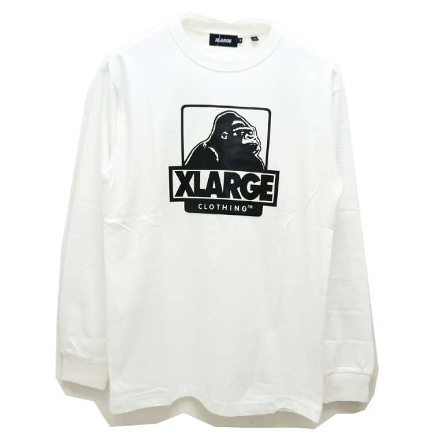 XLARGE エクストララージ ロンT Tシャツ L/S OG LOGO Tee - WHITE