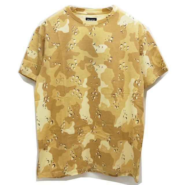 SALE セール RIPNDIP リップンディップ Tシャツ NERM CAMO S/S Tee - CHOCO CHIP CAMO 【#SafeAtHome】