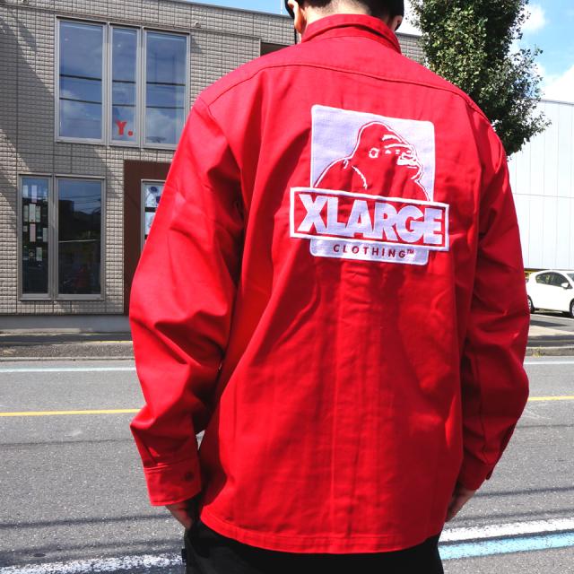 SALE セール XLARGE エクストララージ ワークシャツ L/S OG WORK SHIRT 【#SafeAtHome】