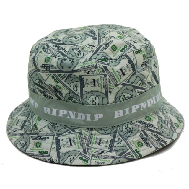 RIPNDIP リップンディップ バケットハット MONEY BAG BUCKET HAT