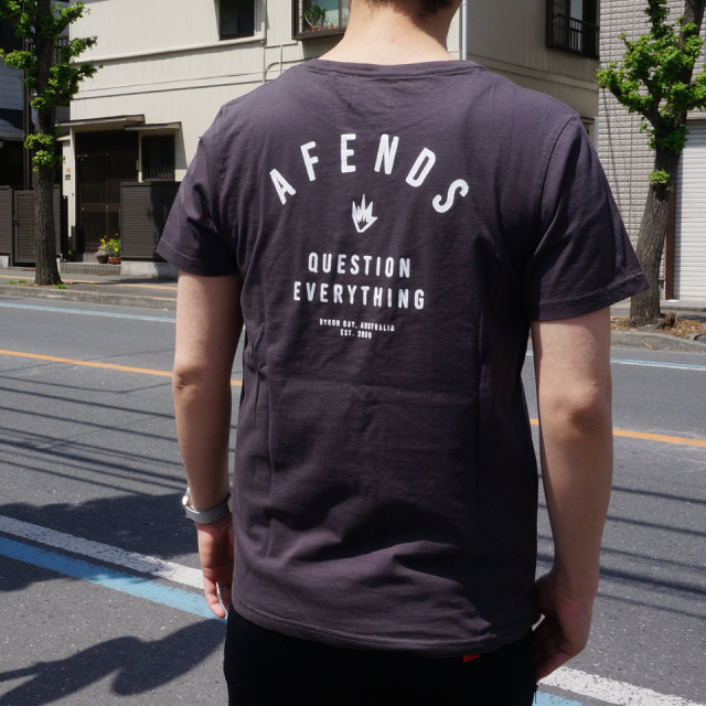 AFENDS アフェンズ PUBLIC S/S Tee