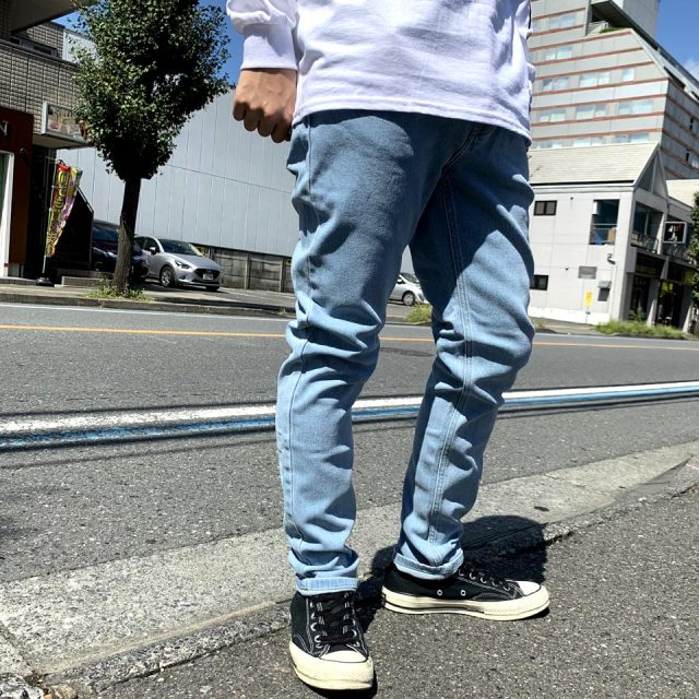 AFENDS アフェンズ スキニーデニム JUNKY JEANS - STONE BLUE