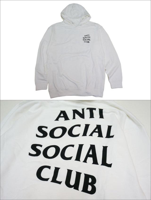 anti social social clubのパーカー