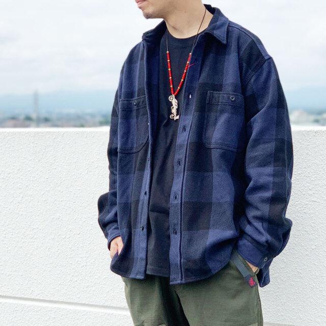 ビッグマック BIG MAC ブロックチェックシャツ BLOCK CHECK L/S SHIRT ネルシャツ フランネルシャツ チェック neibi-