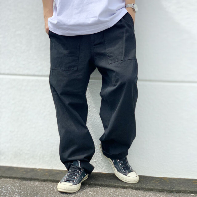 ビッグマック BIG MAC イージーパンツ ワークパンツ TWILL EASY WORK PANTS セットアップ SET UP ブラック