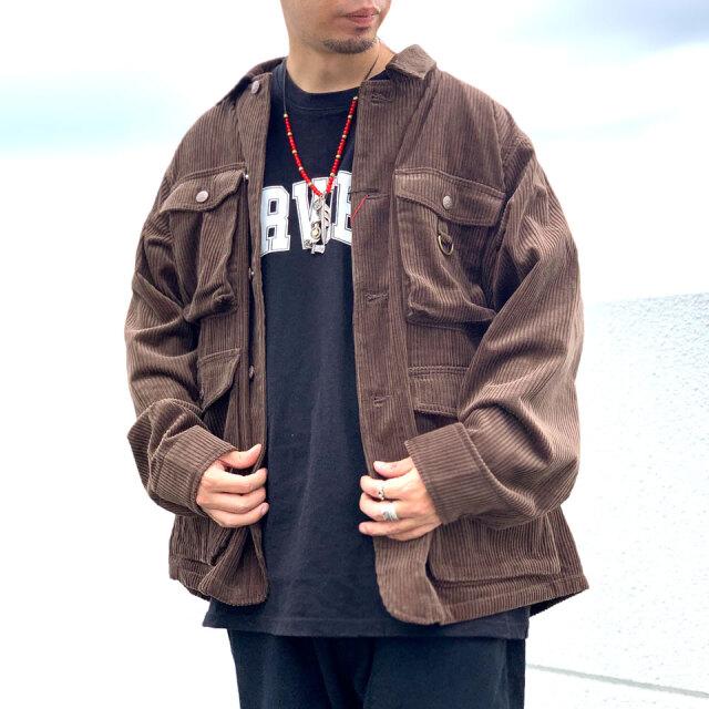 ビッグマック BIG MAC カバーオール コーデュロイジャケット CORDUROY MOUNTAIN JACKET アウター ブラック ブラウン 黒 茶色 BLACK BROWN
