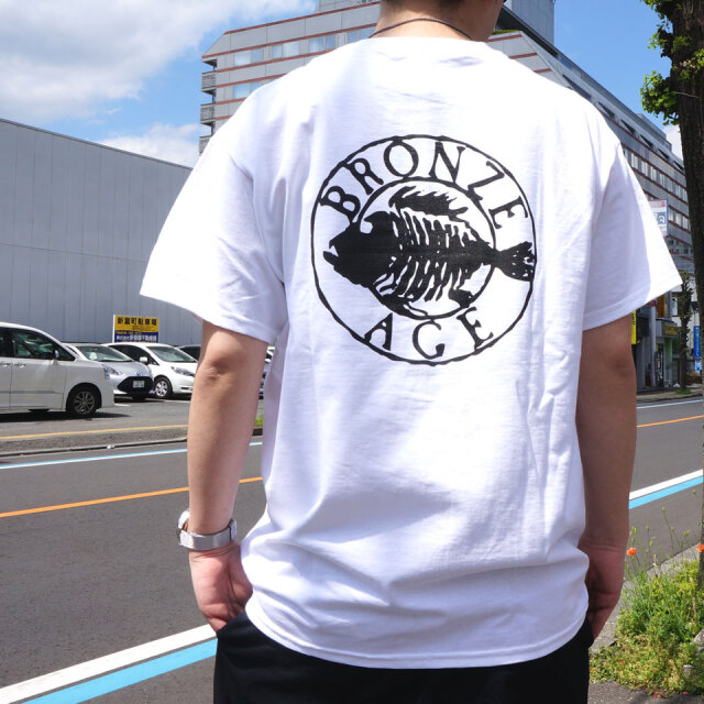 全2色 BRONZE AGE ブロンズエイジ Tシャツ OVAL LOGO S/S Tee ブラック ホワイト