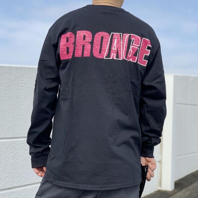 SALE セール 全2色 BRONZE AGE ブロンズエイジ ロンT Tシャツ BUG L/S Tee ブラック ホワイト