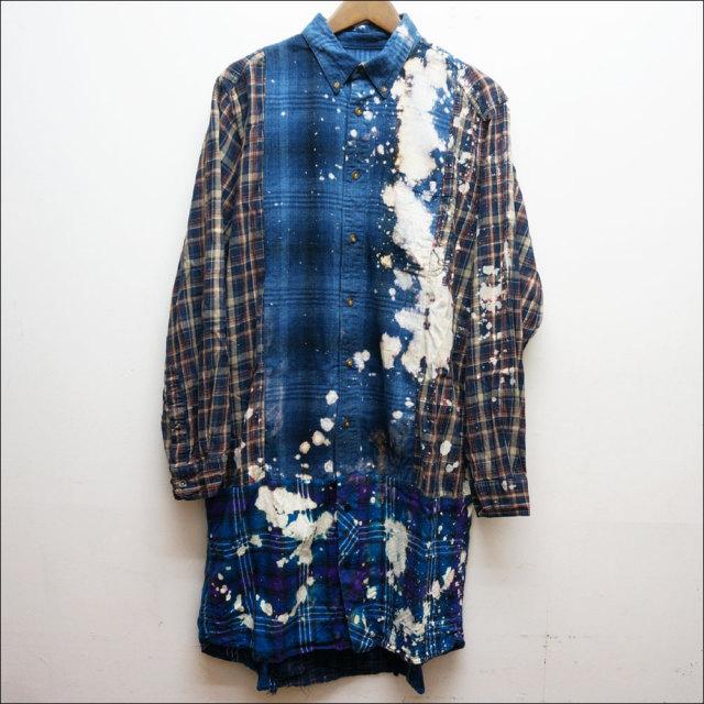 COTE MERのリメイクロングシャツ