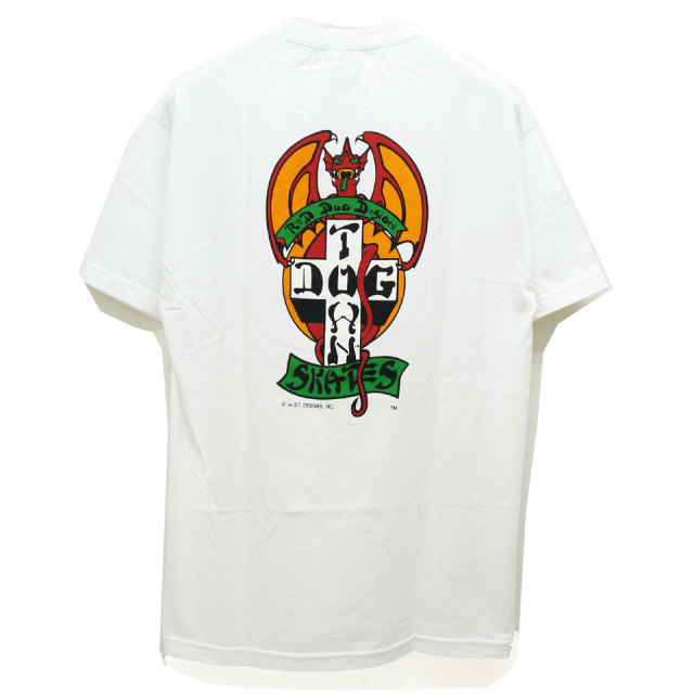 DOG TOWN ドッグタウン RED DOG Tee