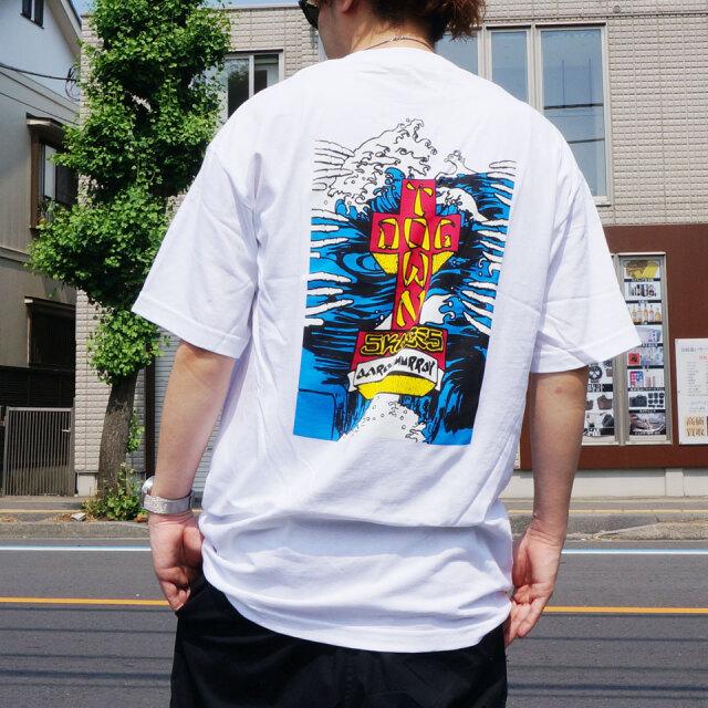 全2色 DOG TOWN ドッグタウン Tシャツ AARON MURRAY S/S Tee アーロンマレー ブラック ホワイト