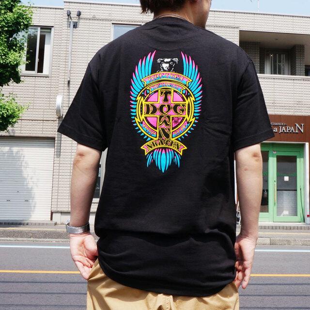 全2色 DOG TOWN ドッグタウン Tシャツ ERIC DRESSEN PUPPY NEON S/S Tee エリックドレッセン ブラック ホワイト