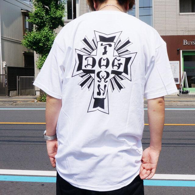 全2色 DOG TOWN ドッグタウン Tシャツ DT×ST SUICIDAL TENDENCIES S/S Tee  ブラック ホワイト