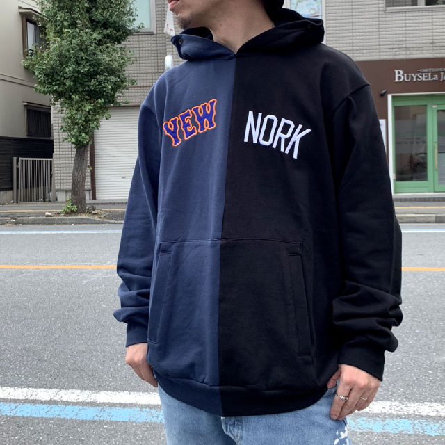 SALE セール EXPANSION エクスパンション パーカー YEW NORK P/O HOOD - NAVY/BLACK 【#SafeAtHome】