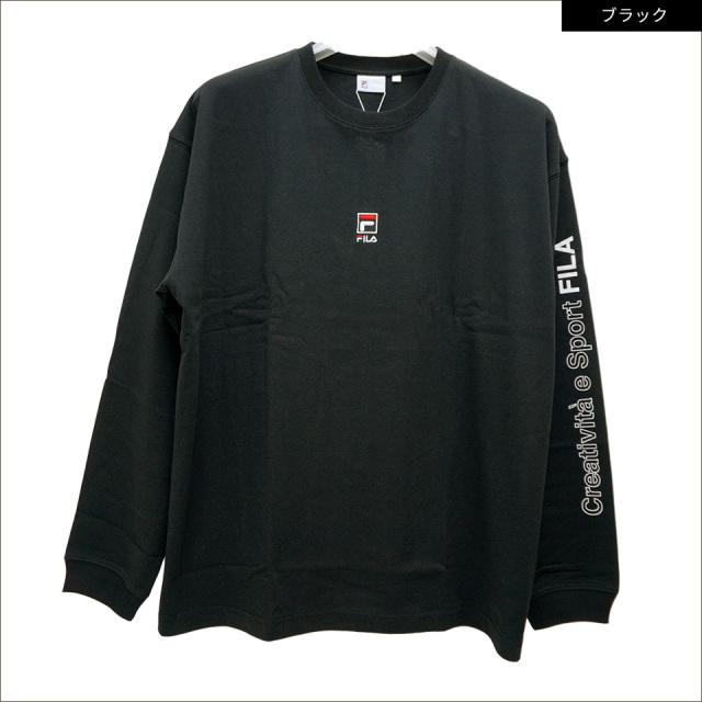 フィラ FILA HERITAGE ロンT BOX LOGO L/S Tee Tシャツ 長袖 FM9807
