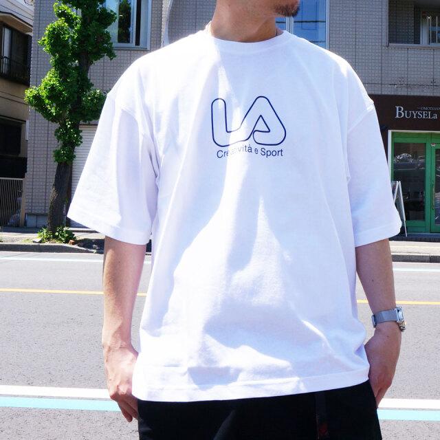 全3色 フィラ FILA HERITAGE Tシャツ LA CIRCLE S/S Tee ビッグシルエット ホワイト ブラック ネオンイエロー FM9837