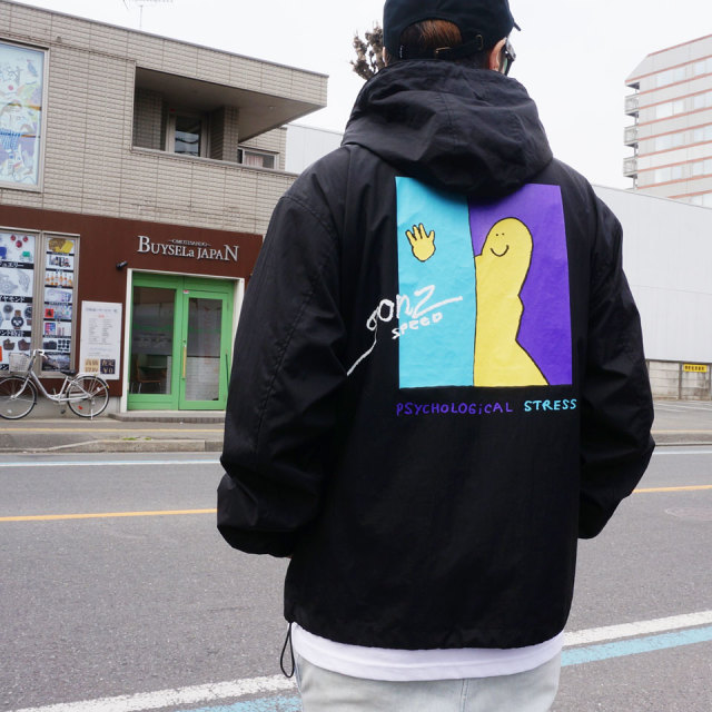 MARK GONZALES マークゴンザレス PYCHOLOGICAL ANORAK JACKET アノラック
